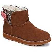 kengät Naiset Bootsit Skechers KEEPSAKES Brown