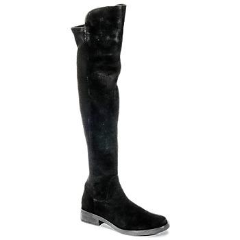 kengät Naiset Ylipolvensaappaat Buffalo NUPAN Black