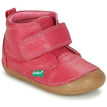 kengät Tytöt Bootsit Kickers SABIO Fuksia