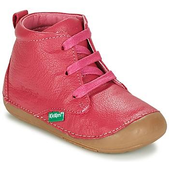 kengät Tytöt Bootsit Kickers SONICE Fuksia