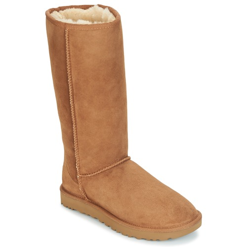 kengät Naiset Saappaat UGG CLASSIC TALL II Brown