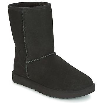 kengät Naiset Bootsit UGG CLASSIC SHORT II Black