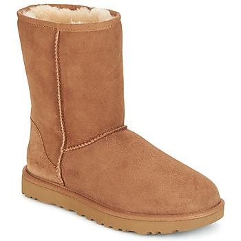 kengät Naiset Bootsit UGG CLASSIC SHORT II Camel
