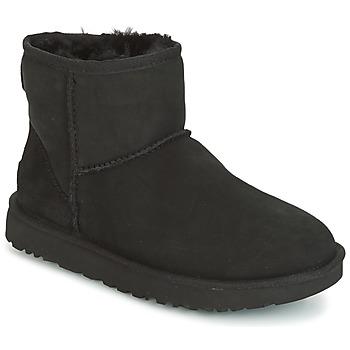 kengät Naiset Bootsit UGG CLASSIC MINI II Black