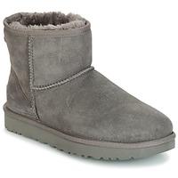 kengät Naiset Bootsit UGG CLASSIC MINI II Grey