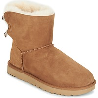 kengät Naiset Bootsit UGG MINI BAILEY BOW II Brown