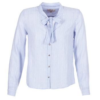 vaatteet Naiset Paitapusero / Kauluspaita Cream CAMA STRIPED SHIRT Blue