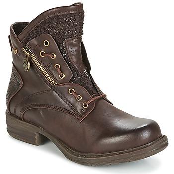 kengät Naiset Bootsit Dockers by Gerli CORTA Brown
