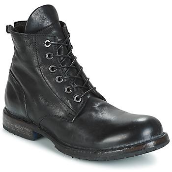 kengät Miehet Bootsit Moma CUSNA NERO Black