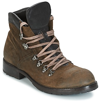 kengät Miehet Bootsit Moma MARTENS CORDA/ COSNA TESTA DI MORO Kaki / Brown