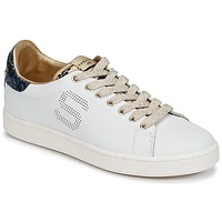 kengät Naiset Matalavartiset tennarit Serafini J.CONNORS White / Blue / Dore