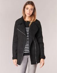 vaatteet Naiset Paksu takki Betty London HARMI Black