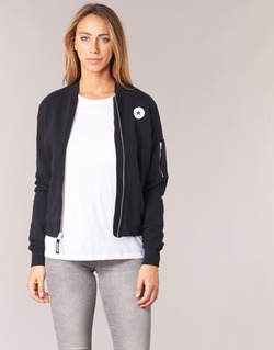 vaatteet Naiset Takit / Bleiserit Converse CORE MA-1 BOMBER Black