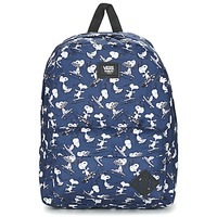 laukut Reput Vans OLD SKOOL II BACKPACK Blue / White