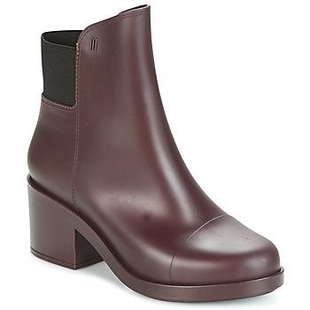 kengät Naiset Nilkkurit Melissa ELASTIC BOOTS BORDEAUX