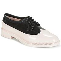 kengät Naiset Derby-kengät Melissa CLASSIC BROGUE AD. Vaaleanpunainen / Musta