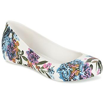 kengät Naiset Balleriinat Melissa ULTRAGIRL 3DB Ad. White