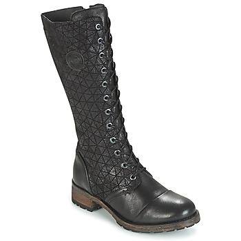 kengät Naiset Saappaat Pataugas DOLCE Black