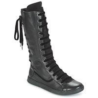 kengät Naiset Saappaat Pataugas JINA Black