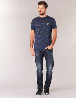 vaatteet Miehet Slim-farkut Le Temps des Cerises 711 Blue