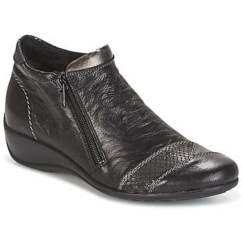 kengät Naiset Bootsit Remonte Dorndorf LOUNA Black