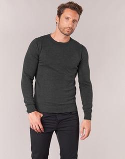 vaatteet Miehet Neulepusero Tom Tailor GRUS Black