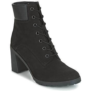 kengät Naiset Nilkkurit Timberland ALLINGTON 6IN LACE UP Musta