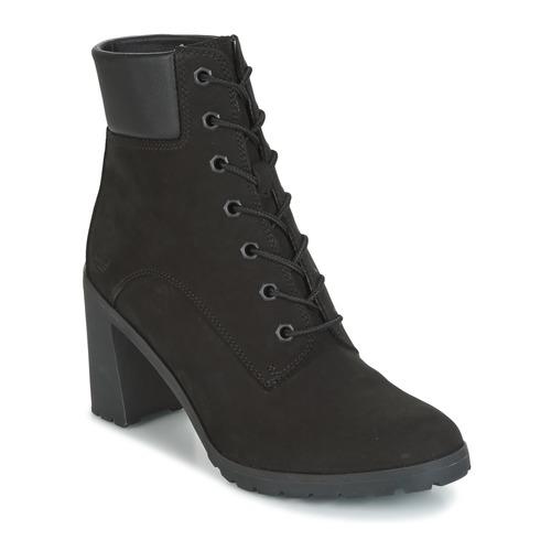 kengät Naiset Nilkkurit Timberland ALLINGTON 6IN LACE UP Black