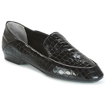 kengät Naiset Mokkasiinit Robert Clergerie FANIN-COCCO-AGNEAU-NOIR Black