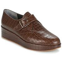 kengät Naiset Derby-kengät Robert Clergerie NONKA-V.COCCO-CHOCOLAT Brown