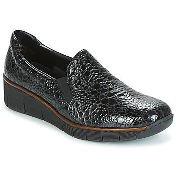 kengät Naiset Mokkasiinit Rieker LLOYD Black