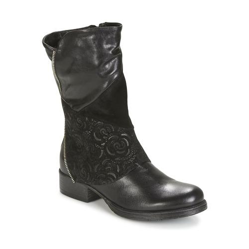 kengät Naiset Bootsit Dream in Green HANPI Black
