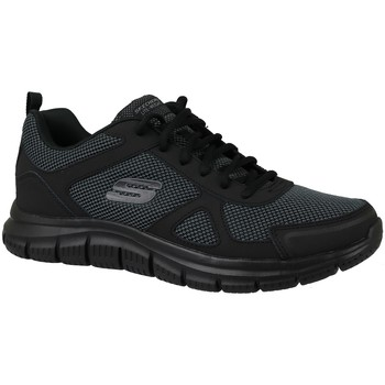 kengät Miehet Matalavartiset tennarit Skechers Track Noir