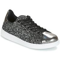 kengät Naiset Matalavartiset tennarit Yurban HELVINE Grey / Glitter