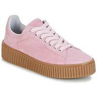 kengät Naiset Matalavartiset tennarit Yurban HADIL Vaaleanpunainen