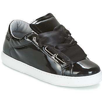 kengät Naiset Matalavartiset tennarit Yurban HOURIX Musta