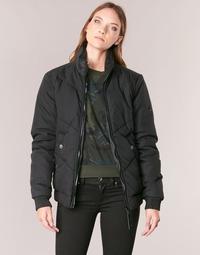 vaatteet Naiset Pusakka G-Star Raw STRETT CHEVRON JKT Black