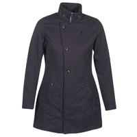vaatteet Naiset Parkatakki G-Star Raw MINOR CLASSIC PADDED SLIM COAT Black