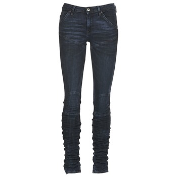 vaatteet Naiset Skinny-farkut G-Star Raw 5620 STAQ 3D MID SKINNY WMN Laivastonsininen