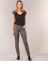 vaatteet Naiset Skinny-farkut G-Star Raw 5620 STAQ 3D MID SKINNY COJ WMN Kaki