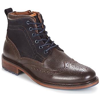 kengät Miehet Bootsit Coxx Borba RESERVA Brown / Laivastonsininen