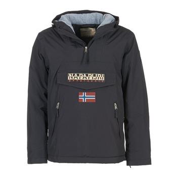vaatteet Miehet Parkatakki Napapijri RAINFOREST POCKET Black