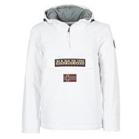 vaatteet Miehet Parkatakki Napapijri RAINFOREST White