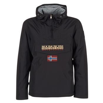 vaatteet Miehet Parkatakki Napapijri RAINFOREST Black