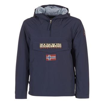 vaatteet Miehet Parkatakki Napapijri RAINFOREST Laivastonsininen