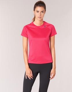 vaatteet Naiset Lyhythihainen t-paita adidas Performance D2M TEE LOSE Pink