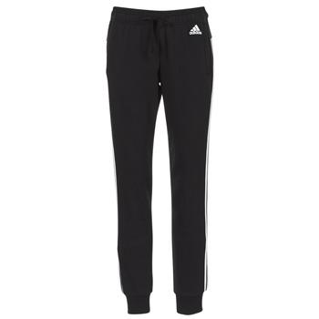 vaatteet Naiset Verryttelyhousut adidas Performance ESS 3S PANT CH Black