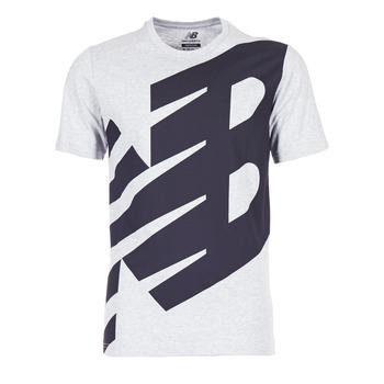 vaatteet Miehet Lyhythihainen t-paita New Balance NB ESSENTIEL T Grey