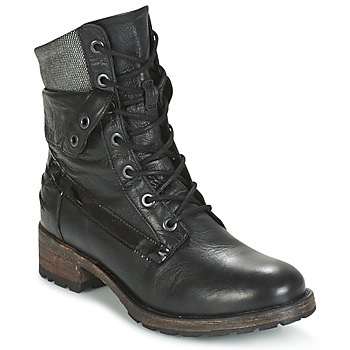 kengät Naiset Bootsit Pataugas DEDAY Black