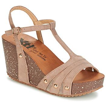 kengät Naiset Sandaalit ja avokkaat Xti  TAUPE